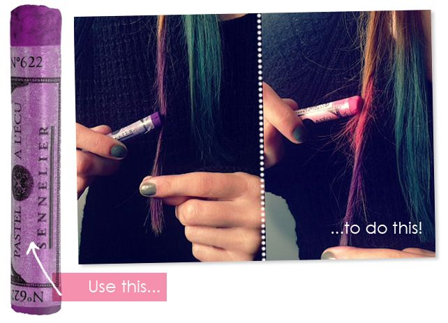 Doing this to the girls hair!