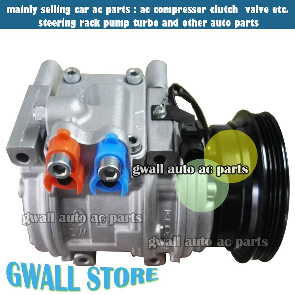 10pa15c Ac Compressor For Car Hyundai Tucson 20l Kia Sportage Kompresor Honda All New Jazz Ori Spectra L4 977012d700 97701 2d700 98373 977012e000