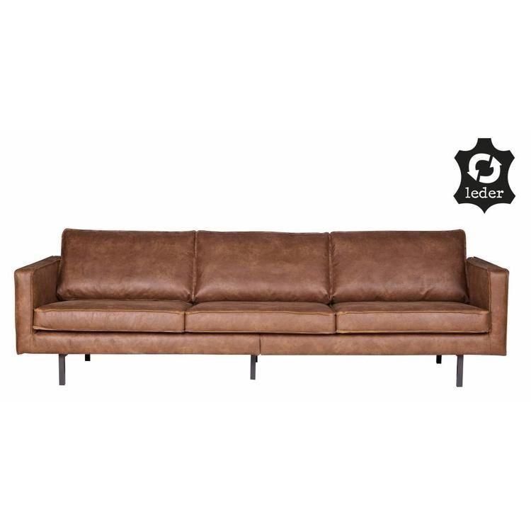 Bepurehome Sofa 3 Sitzer Rodeo Recyceltes Leder Cognac Braun 3sitzer Bepureh 1000 In 2020 Sofa Rodeo Cognac