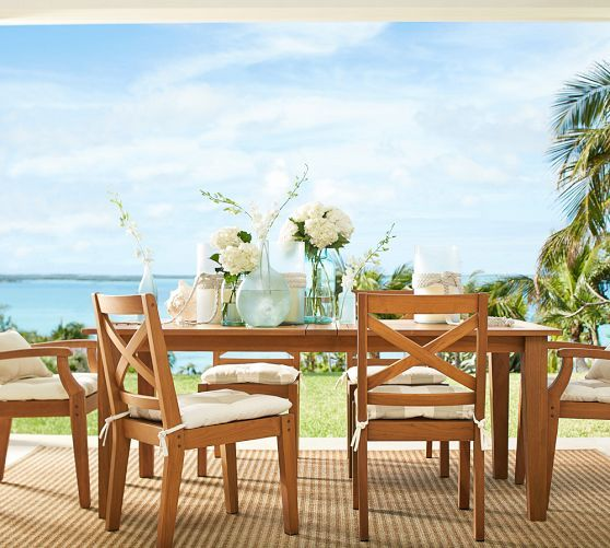 Hampstead Teak Butterfly Extension Table Amp Chair Dining Set Outdoor Dining Table Decor Outdoor Wood Furniture Outdoor Furniture