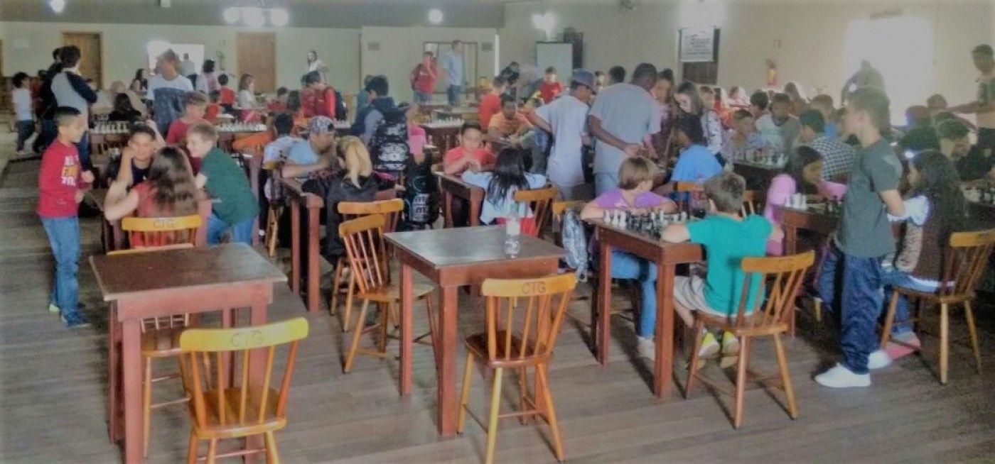 Torneio Xadrez em Candelária. Foto: divulgação