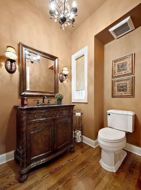 Warm Neutrals Are The Perfect Paint Colors For Your Traditional Bathroom Decor Vintage Bathroom Decor Painting Bathroom Tuscan Bathroom