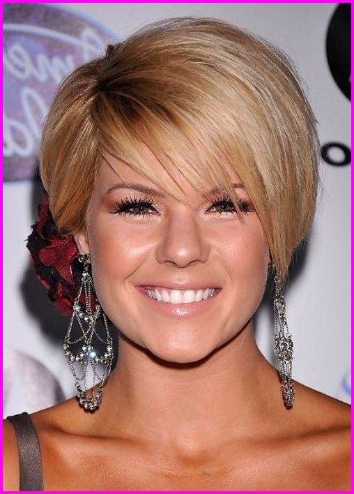 40 Best Short Haircuts for Round Faces 2019,