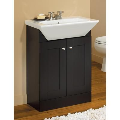 24inch London Shaker Style Vanity Base, Bathroom Cabinets Home Depot
