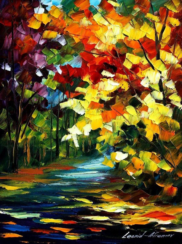 The Gold Of Fall (Leonid Afremov)