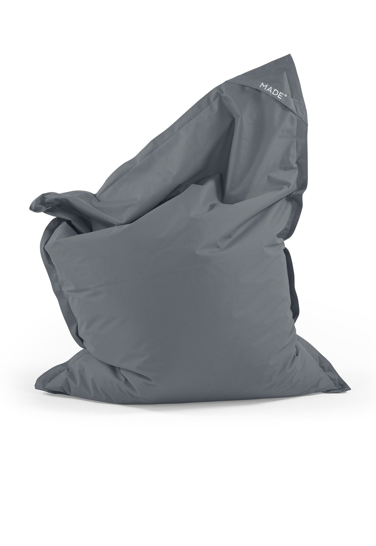 The Piggy Bag, in Grey. Perfect for lounging indoor or out in the garden. £79. MADE.COM