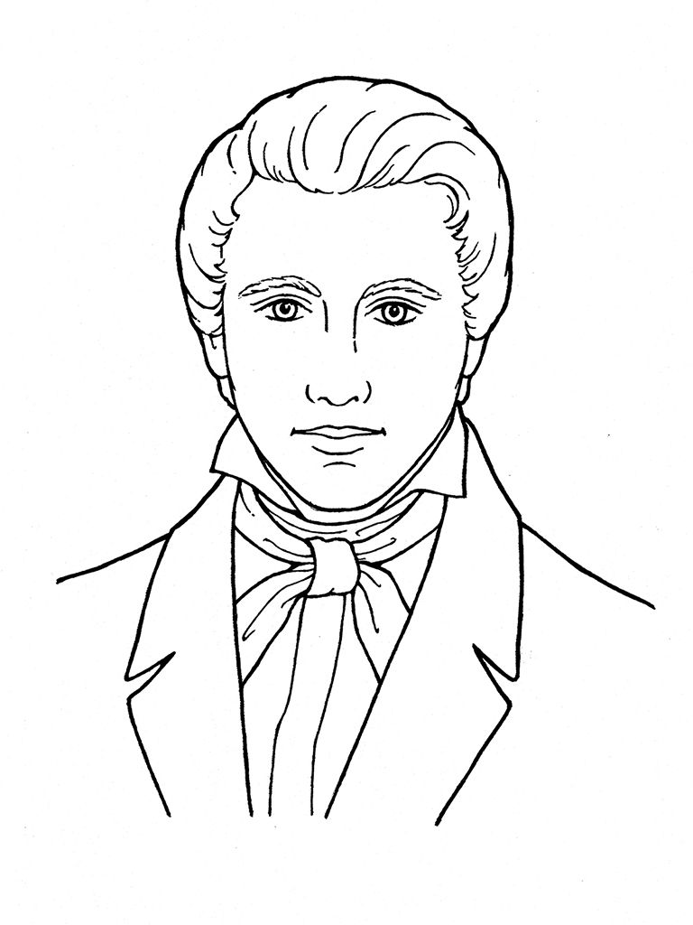 Top Lds Coloring Pages Awesome 768x1024