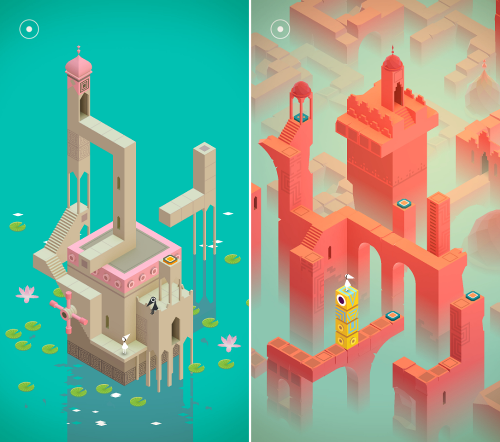3d game puzzle Google Search Monument valley game