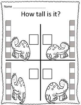 Dinosaur Measurement Worksheets Measurement Worksheets Homework Worksheets Dinosaur Worksheets