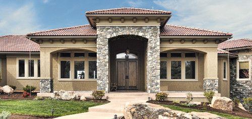 Italian Villa Stone Home Exterior Coronado Stone Veneer