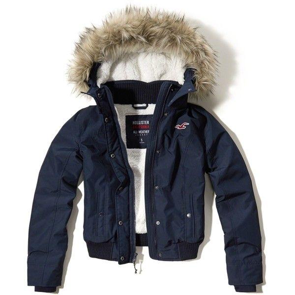 hollister navy blue jacket