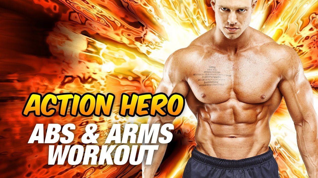Action Hero Abs & Arms Workout (Hollywood Physique!) in