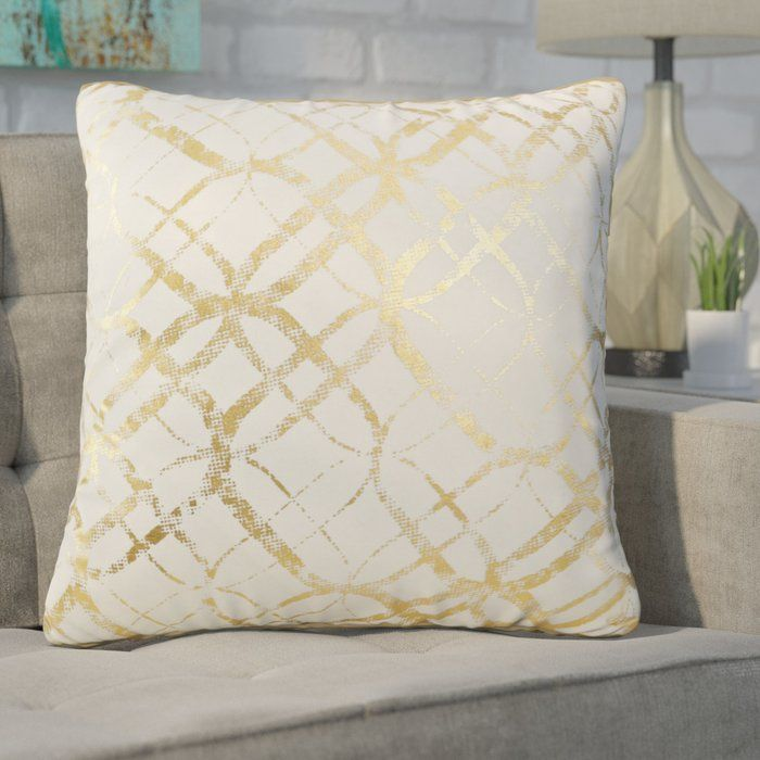Shop Allmodern For Modern And Contemporary Decorative Throw Pillows To Match Your Style And Budget En Throw Pillows Cotton Throw Pillow Modern Throw Pillows