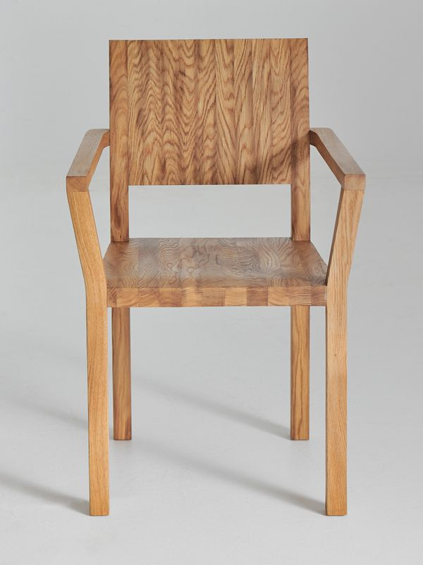 TAU Chair with armrests Design design, Solid wood and Woods