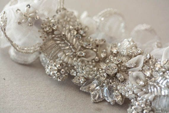 Feminine yet utterly stylish and refined, MillieIcaro garters are made of sheer tulle or organza fabric with beautifully engineered lace, or delicately beaded w