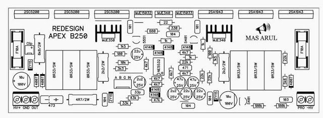 bf560d910b1d8b125b8c822c752191bc power amplifier apex b250, power amplifier circuit using apex vdm wiring diagram at soozxer.org