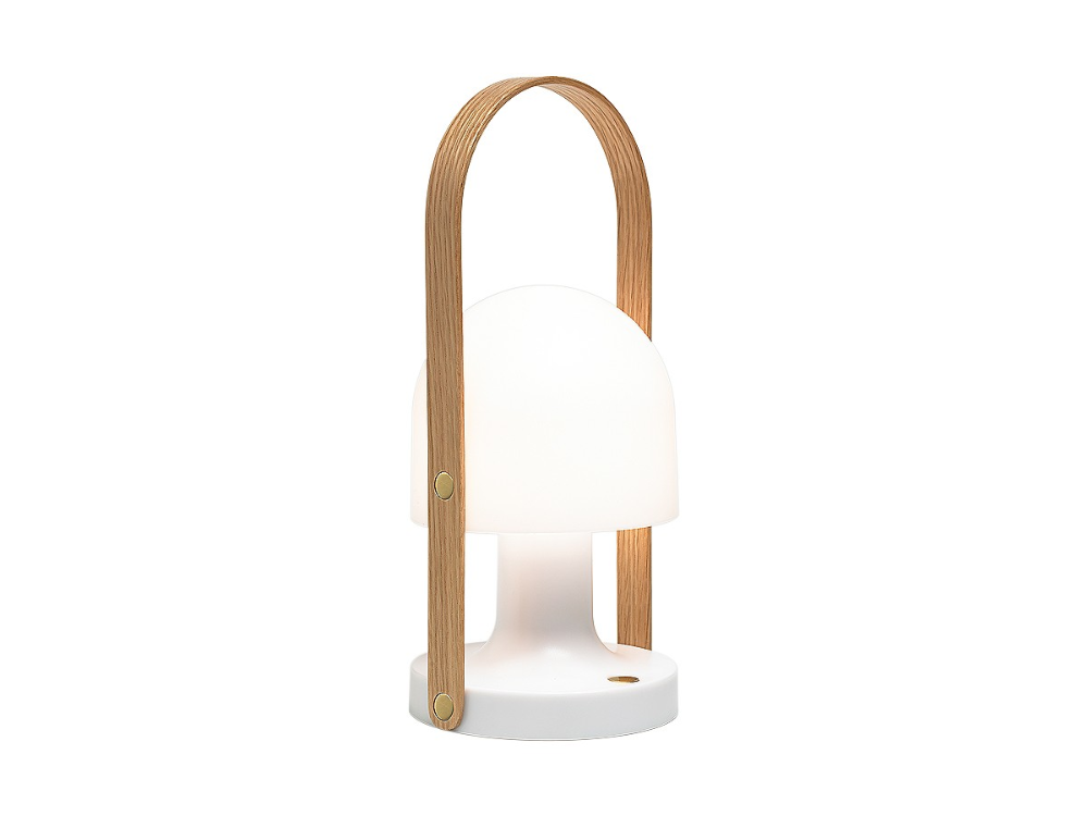 Designed by Inma Bermúdez, the portable and rechargeable, Marset FollowMe Table Lamp enables you to take the light with you, wherever you go.