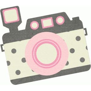 Silhouette Design Store - View Design #94324: pink and grey camera