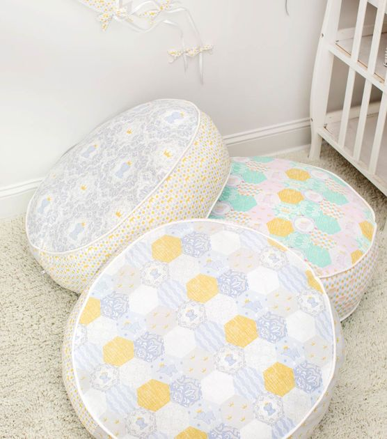 Learn to sew Daisy Kingdom Round Floor Pillow | Pillows | Pinterest ...