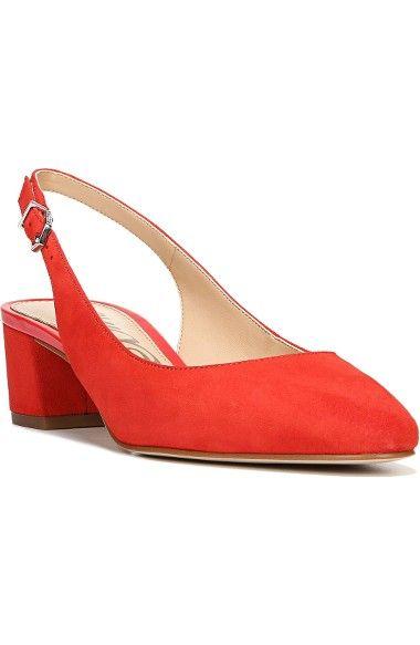 ef80e36a636 SAM EDELMAN Lorene Slingback Pump.  samedelman  shoes  pumps Low Block Heel  Pumps