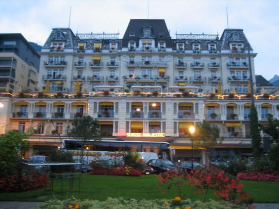 Stayed In This Magnificent Montreux Grand Hotel