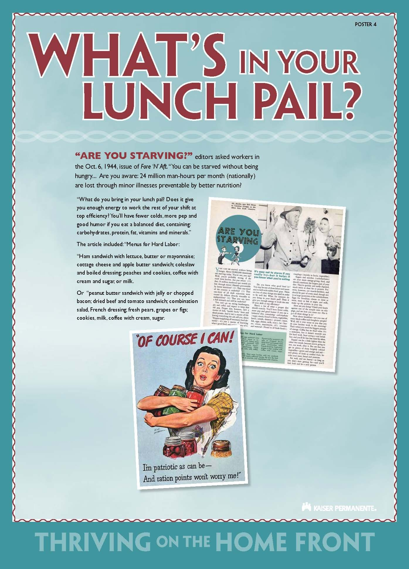 Google Image Result For Http Www Kaiserpermanentehistory Org Wp Content Uploa Nutrition Vintage Advertising Signs Food Facts