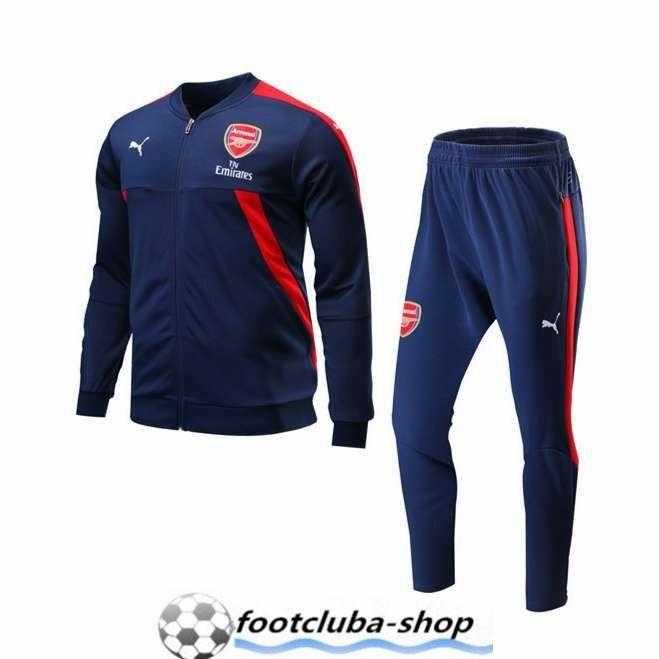 Survetement de Foot Arsenal Bleu Marin 2017 2018 Pas Cher | Uniforms |  Pinterest | Soccer skills