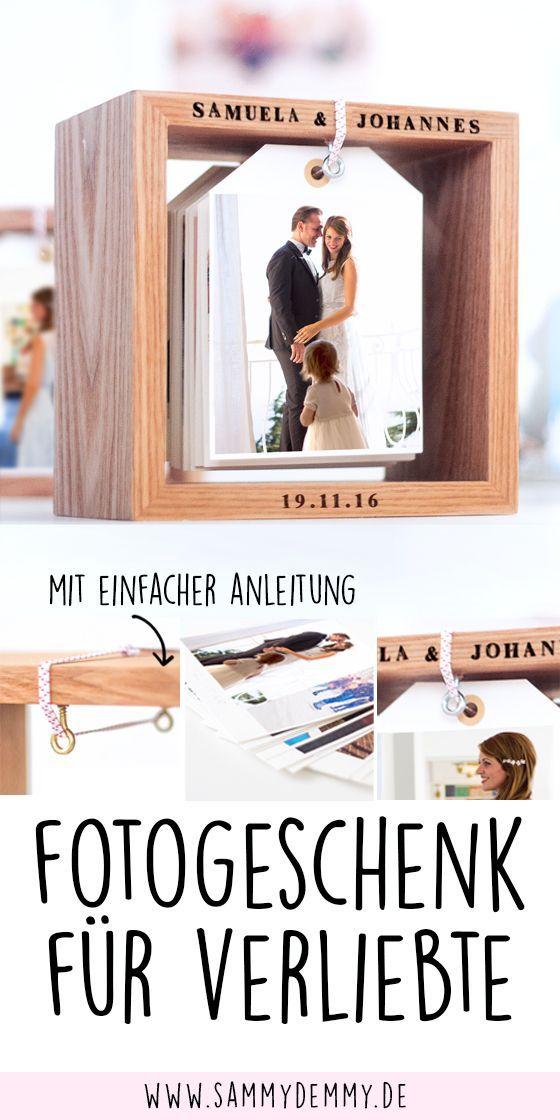 Photo of DIY Fotokalender im Holzrahmen: Bildlein, wechsel dich! – www.sammydemmy.de
