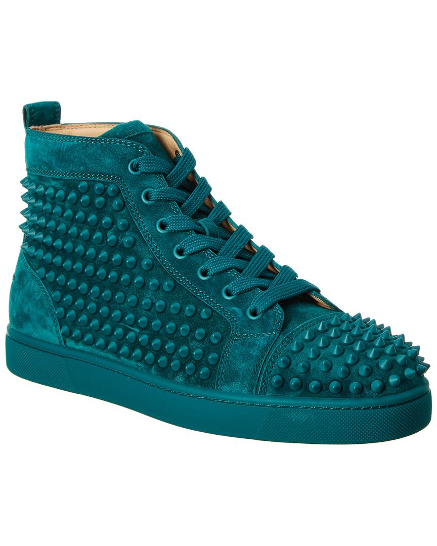 7539787aa536 CHRISTIAN LOUBOUTIN CHRISTIAN LOUBOUTIN LOUIS SPIKES SUEDE SNEAKER.   christianlouboutin  shoes
