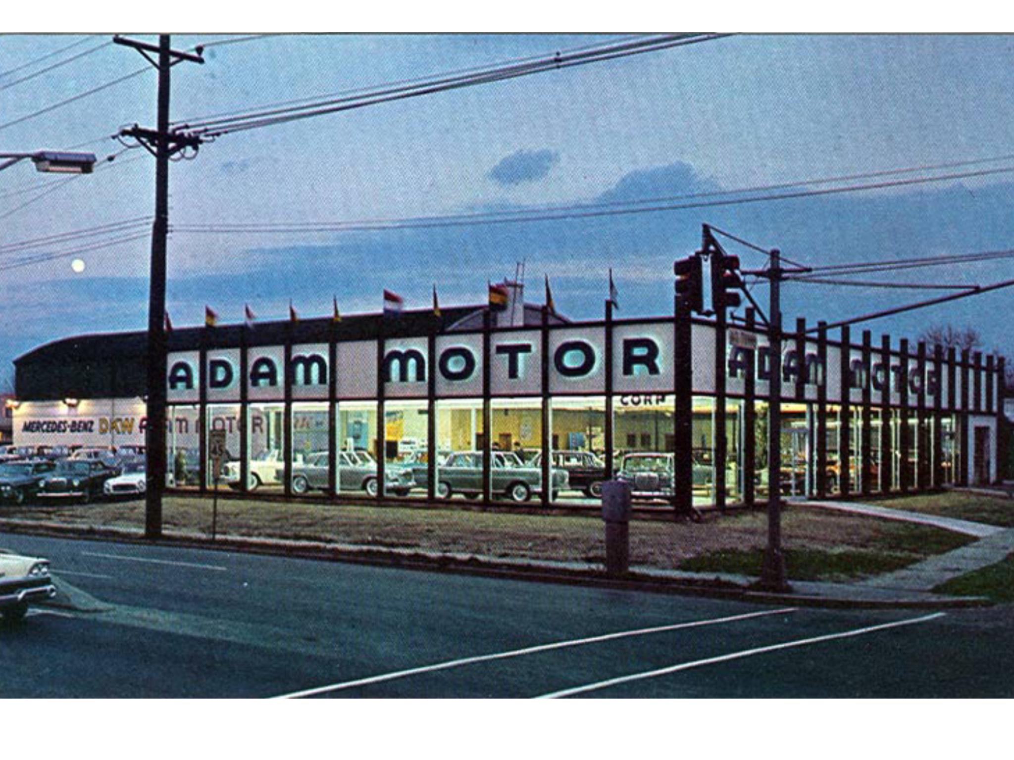 Adam Motor Corp., Mercedes Benz Studebaker Dealership ...