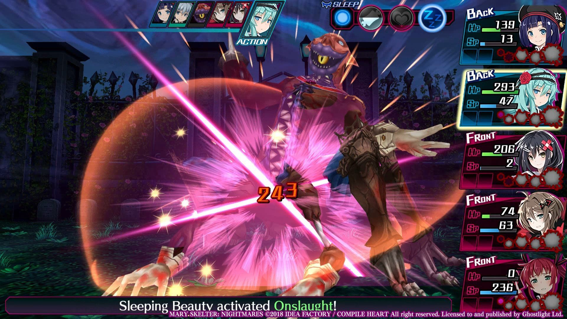 Dungeon Crawler Mary Skelter: Nightmares Launches Today