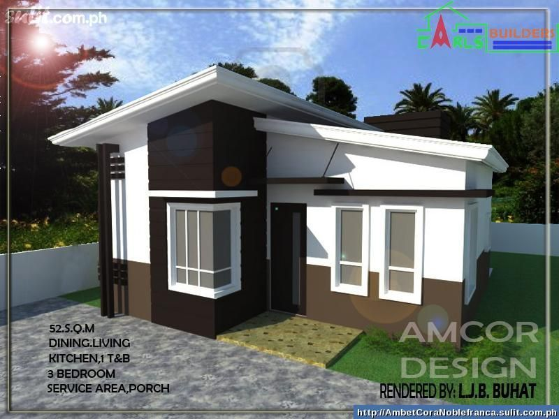Small modern house design in the philippines