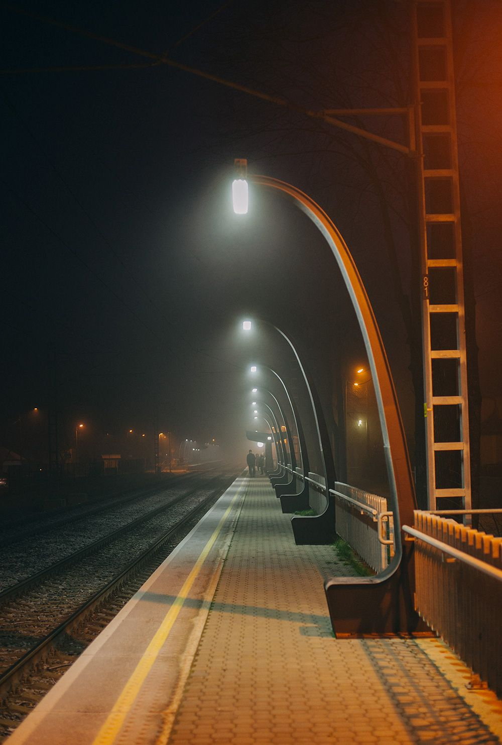Great Shot Click Pinterest Ghost Photos - City streets glow in eerie night time photographs by andreas levers