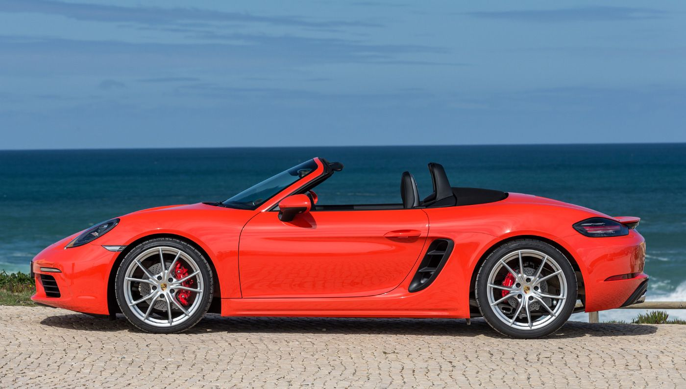 Driving The 2017 Porsche 718 Boxster S In Southern California Porsche Convertible Porsche 718 Boxster Porsche