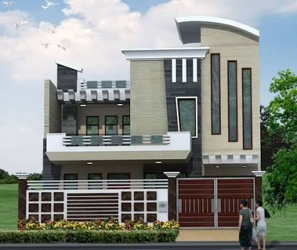 Image Result For Elevations Of Residential Buildings In Indian Photo Gallery Front Elevation Designs House Elevation Normal House