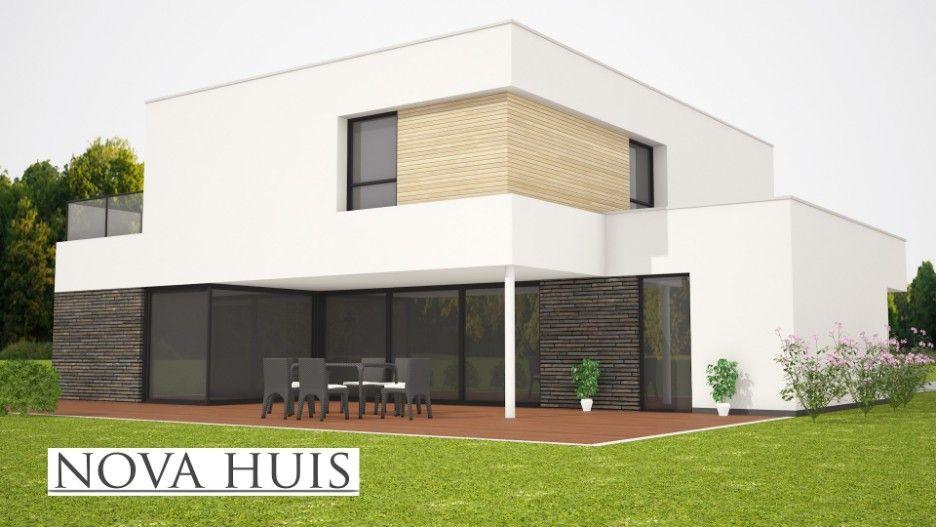 Casco Huis Bouwen : Moderne villa ontwerpen en bouwen met stuukwerk en natuursteen