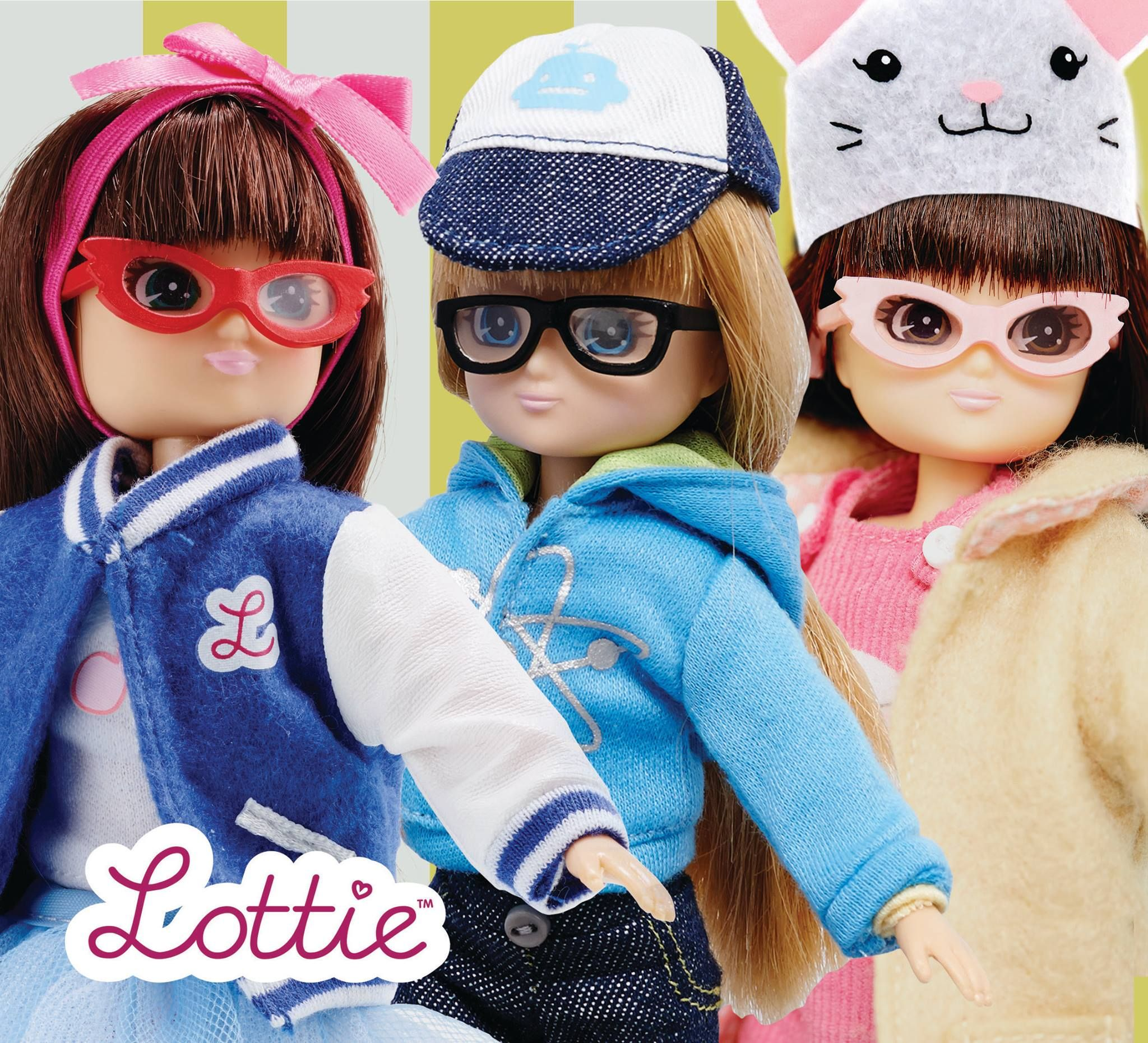 Love these dolls with glasses!