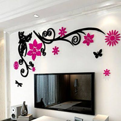 3d Wallpaper Stickers Wallpaper Stickers Wall Stickers Home
