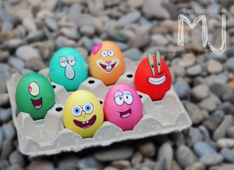 Huevos de pascua  - huevos decorados