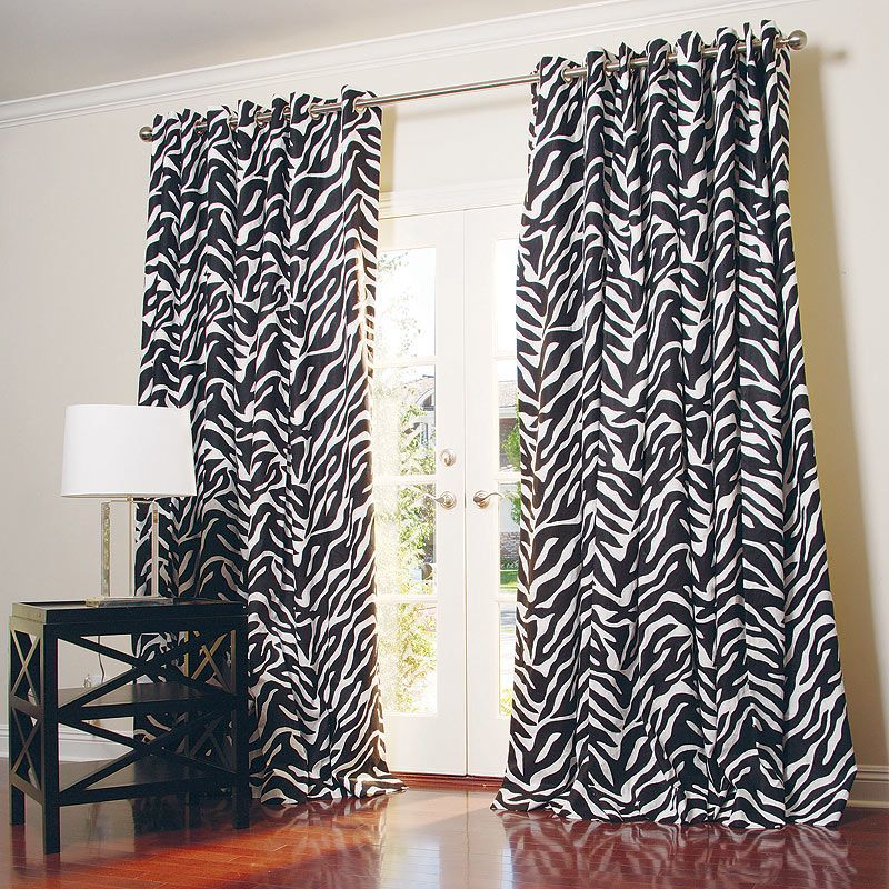 37 Unique And Super Colourful Bedroom Curtain Designs And Ideas Interiorsherpa In 2020 Zebra Curtains Curtains Curtains Bedroom