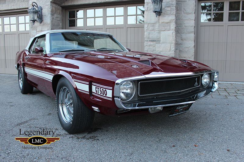 1969 Ford Mustang Shelby Gt500 Super Cobra Jet Shelby Gt500