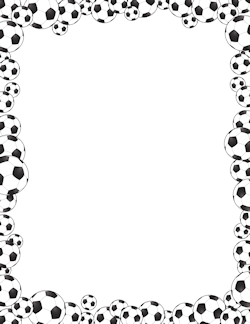 Free Page Borders And Frames Page Borders Soccer Ball Borders And Frames