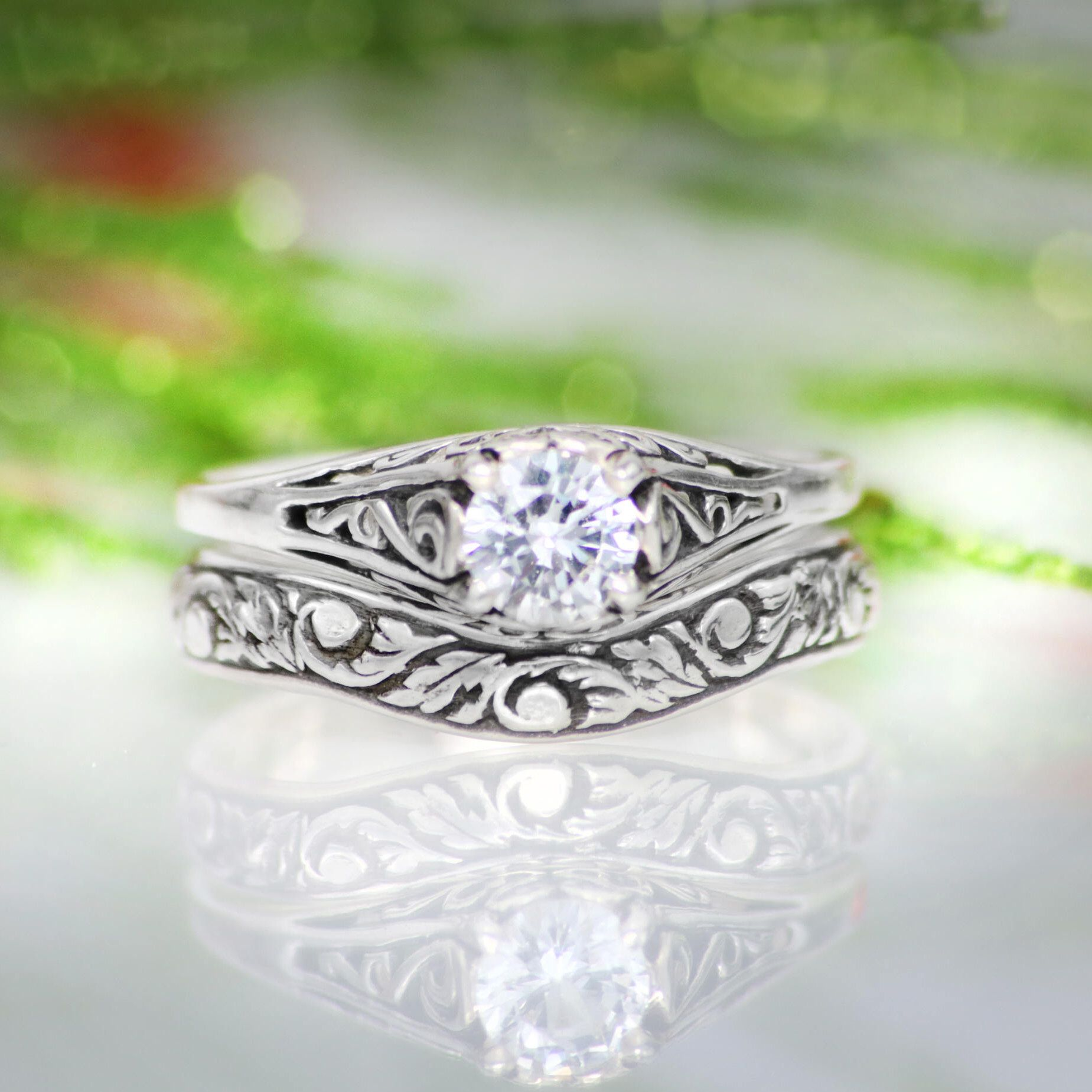 14+ Silver dainty wedding rings info