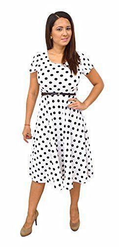DBG Women's Short Sleeve Scoop Neck Polyester Dress