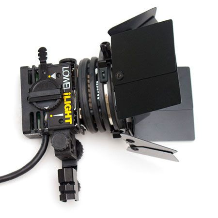 Lowel ID Light Continuous Lighting Kits With Lithium Ion Battery Power