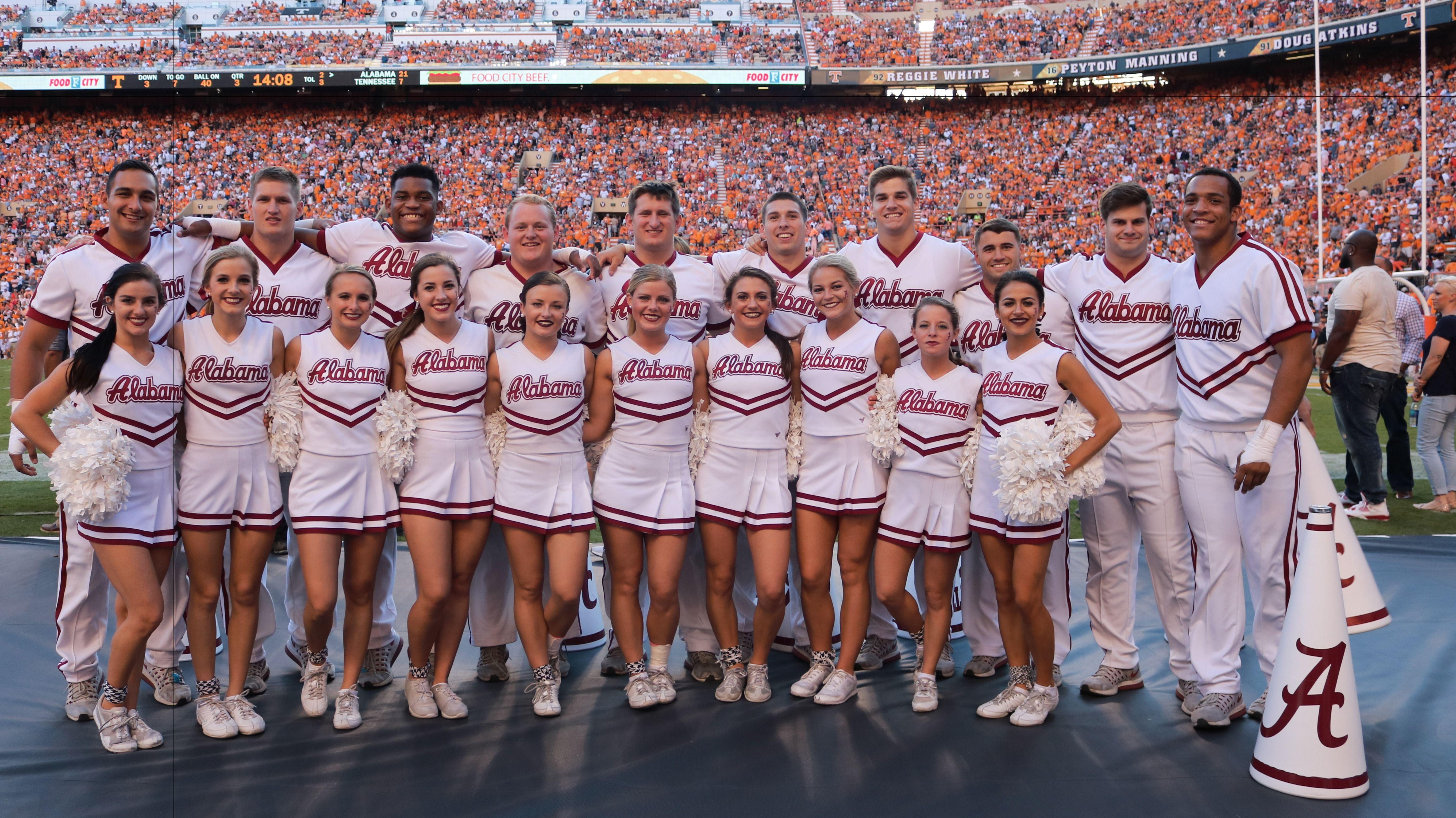 Alabama Cheerleaders 2019 Cheerleading tryouts