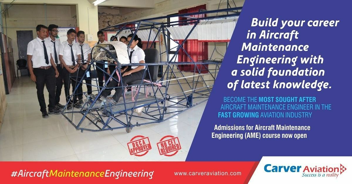 Aircraft maintenance engineer image by Carver Aviation on