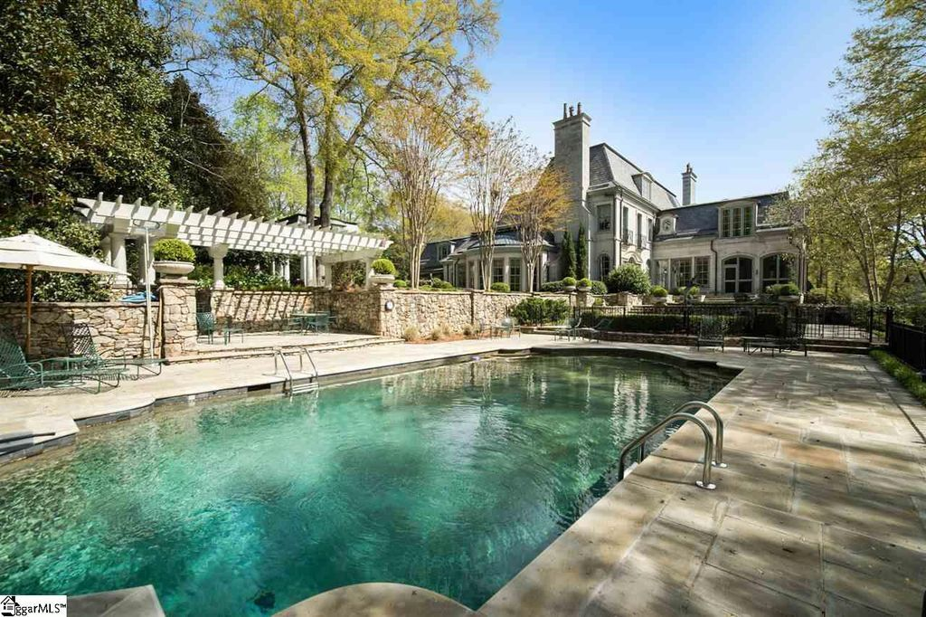 homes for sale in greenville sc with inground pool