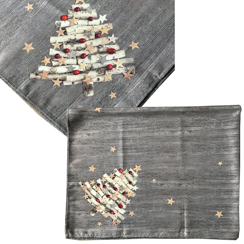 Tischdecke #Weihnachten Weihnachtlich von JEMIDI 130cm x 160cm Decke ...