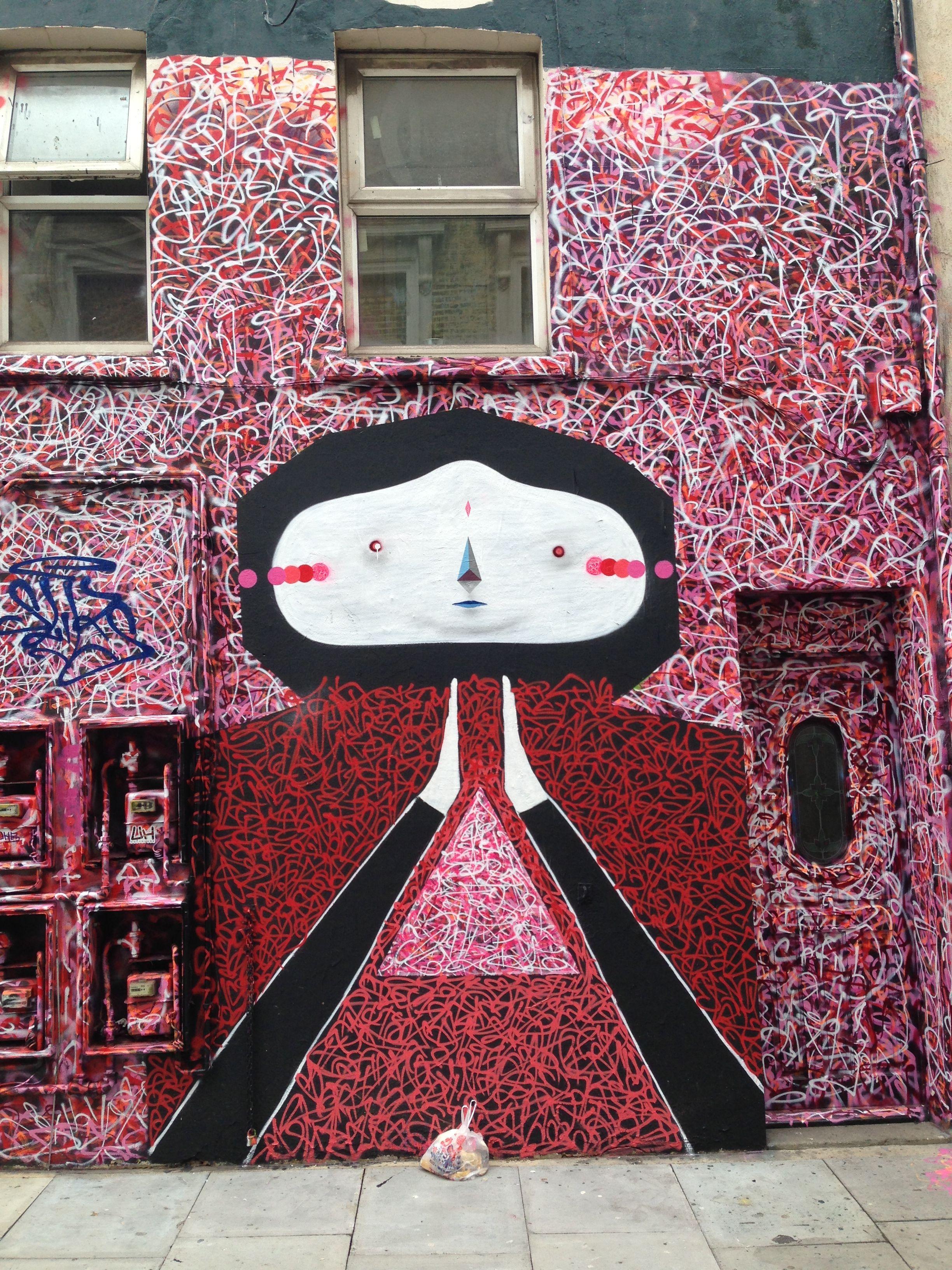 Shoreditch Graffiti: Street Art, Graffiti, Shoreditch